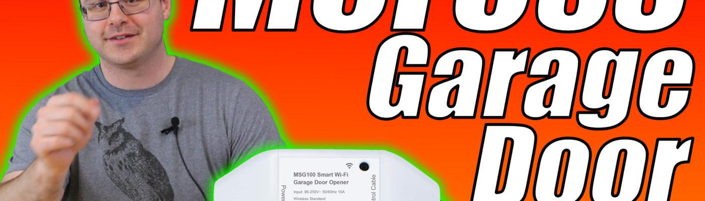 Meross Smart WiFi Garage Door Opener Unbox and Full Setup – MSG100